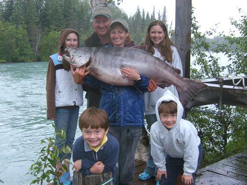 Cindy's 2007 King Salmon