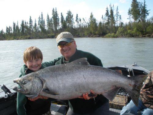 kenai river salmon fishing guides