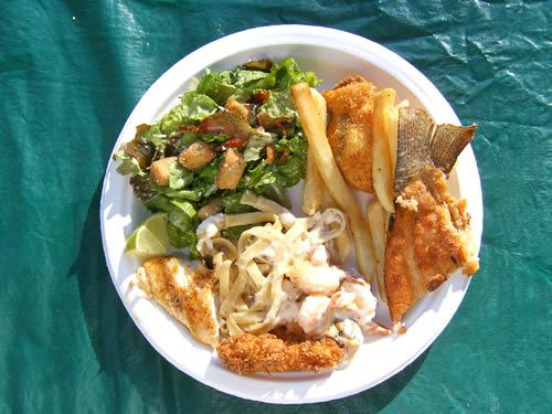 Fish Fry on the Kenai River at Kenai Riverfront