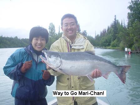 2003 kenai river fishing report the alaska dream for Kenai river fishing report