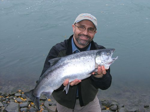 Steve Bangos Silver Salmon, Kenai River, NOT Seward!