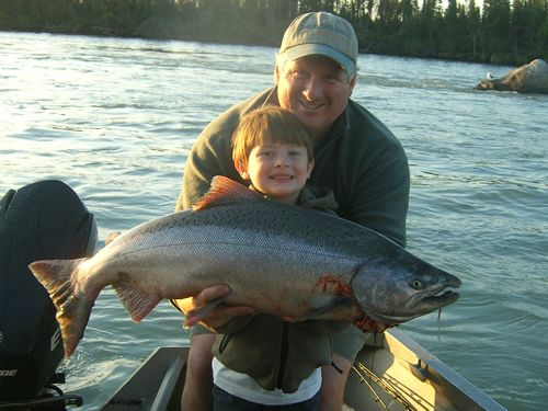 2007 kenai river fishing report the alaska dream for Kenai river fishing report