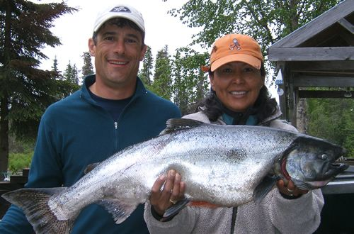 Kenai River Drift Boat Rental for King Salmon
