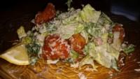 Halibut Caesar Salad