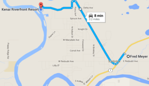 Kenai Riverfront Resort Driving Directions