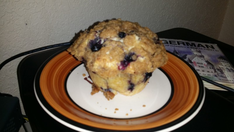 Mama's Alaska Blueberry Muffin