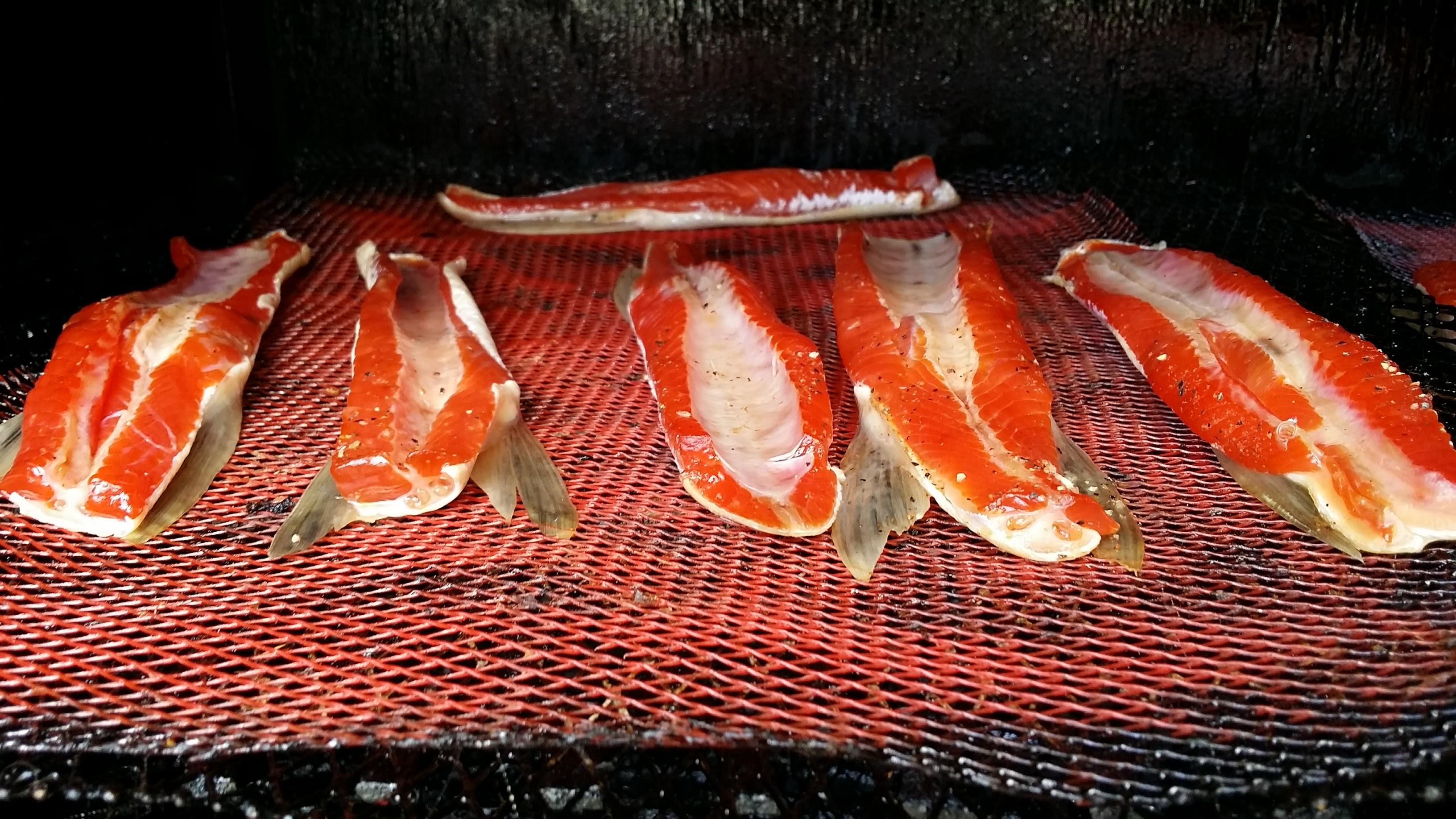 Smoked Sockeye Salmon Bellies