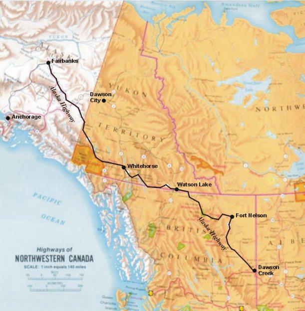 The Alaska Highway - The Alaska Dream