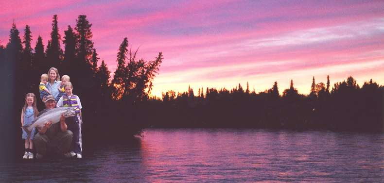 First Sunset on the Kenai 9/20/2002!